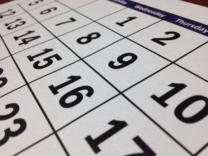 להדפיס על לוח שנה